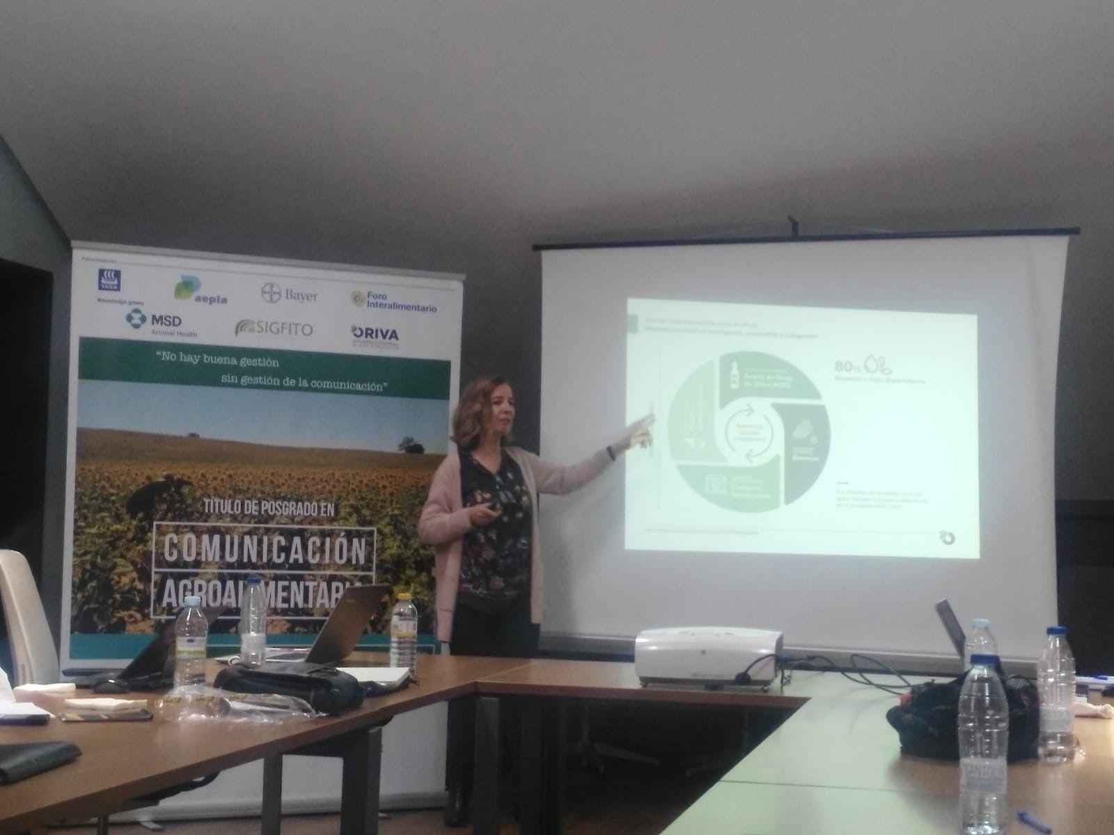 ORIVA participa en el Curso de Experto Universitario en Comunicación Agroalimentaria de APAE