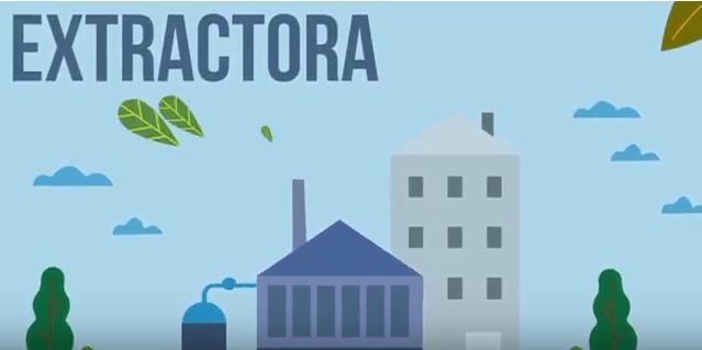 Extractora de Aceite de Orujo de Oliva