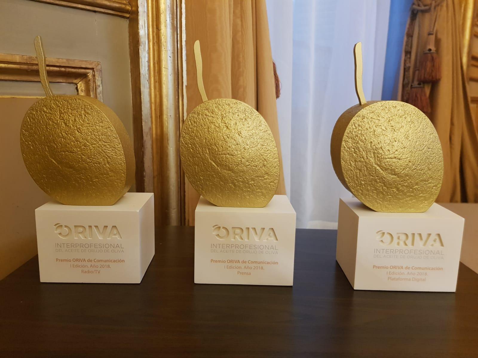 ORIVA entrega sus I Premios de Comunicación