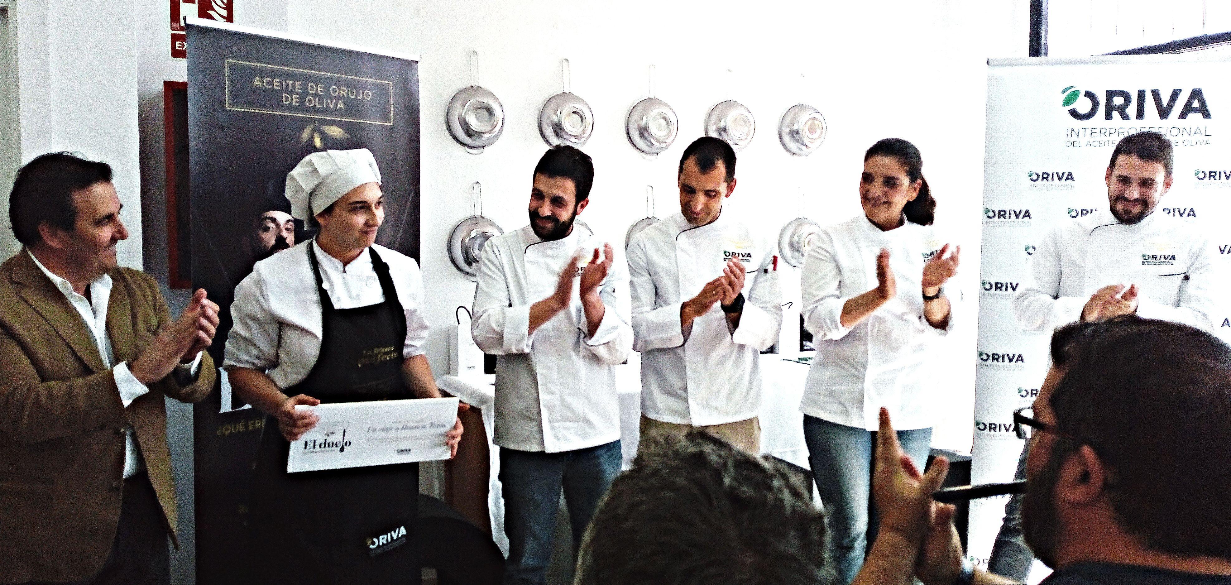 Charlamos con Yaiza Martín Casas (Hostelería de Leioa), ganadora de la primera edición de El Duelo