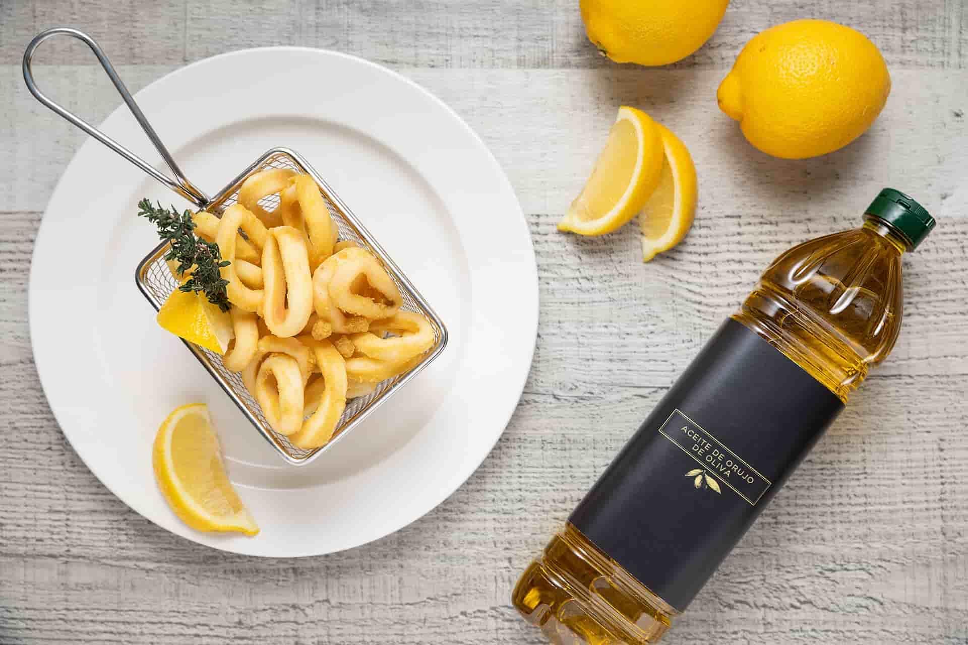 Aceite de Orujo de Oliva o cómo conseguir la fritura perfecta