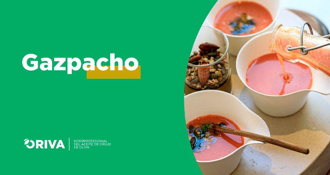 Receta Gazpacho con Aceite de Orujo de Oliva