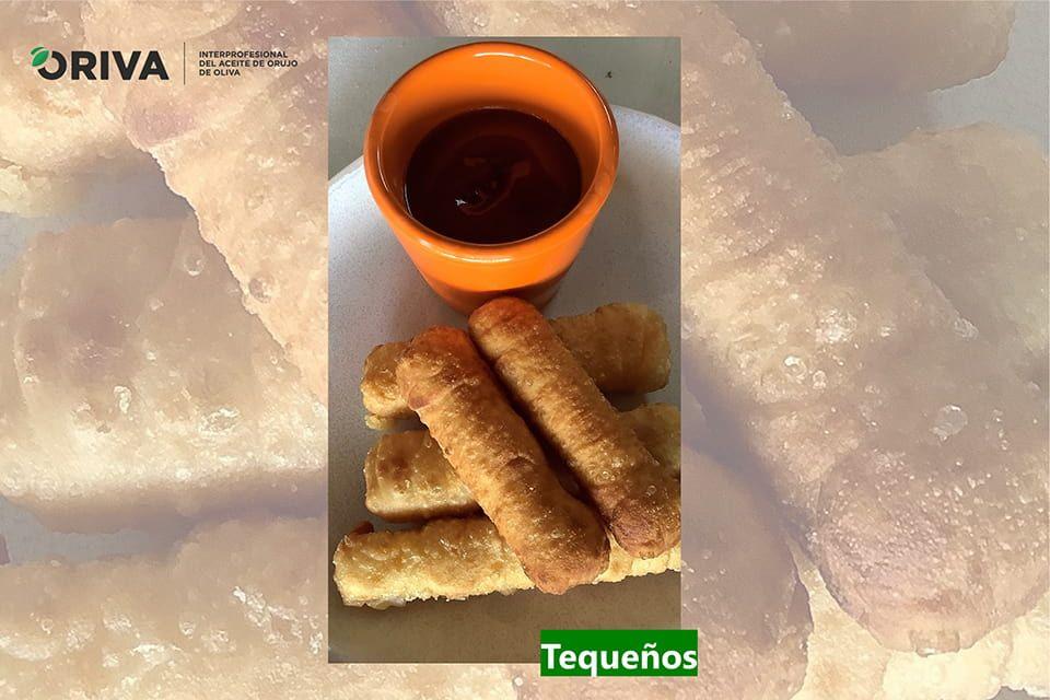 Receta Tequeños: Tequeños de queso con Aceite de Orujo de Oliva